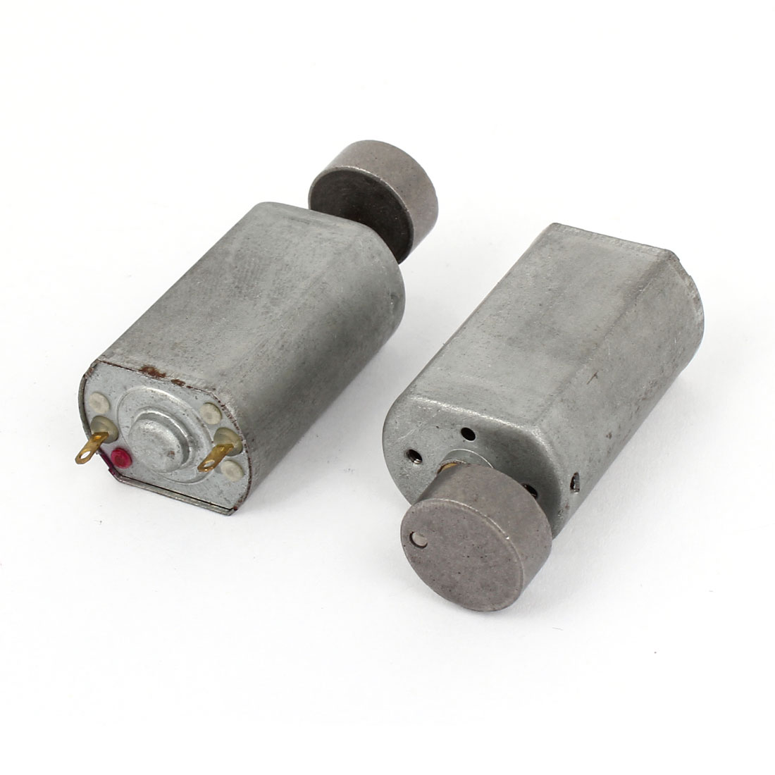 2pcs JFF-180 DC 1.5-6V 22400RPM No Load Speed 2mm Dia Drive Shaft Micro Vibration Motor