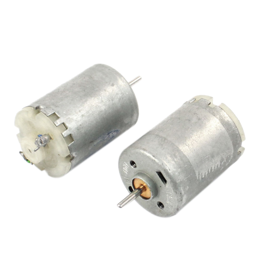 2pcs 2000RPM 3V-9V 130 Round Shape DC Micro Motor for RC DIY Model Aircraft