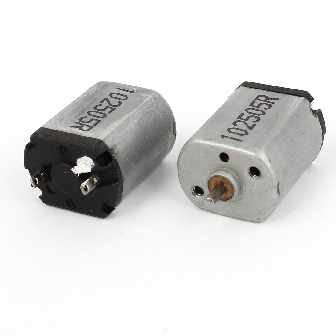 2pcs 10500RPM Speed 1.5mm Shaft High Torque Electric Geared Box Motor DC 3-6V