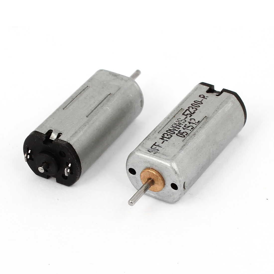 2 Pcs DC 1-3V 1mm Dia Shaft 18000 r/min Rotary Magnet Electric Motor