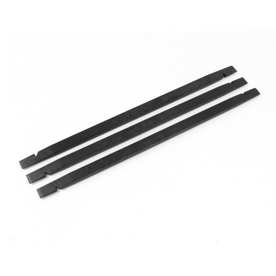 Mobile Phone Black Plastic Flat Tip Stick Opening Repair Tool 3Pcs