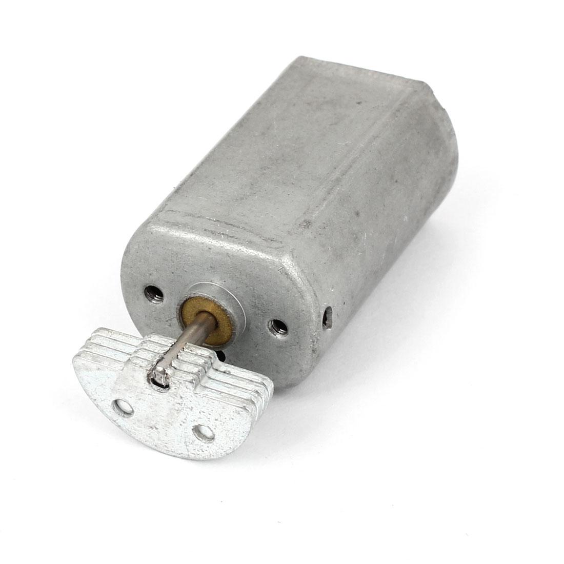 DC 1.5-6V 22400RPM Soldering Mini Vibration Vibrating Motor Silver Tone