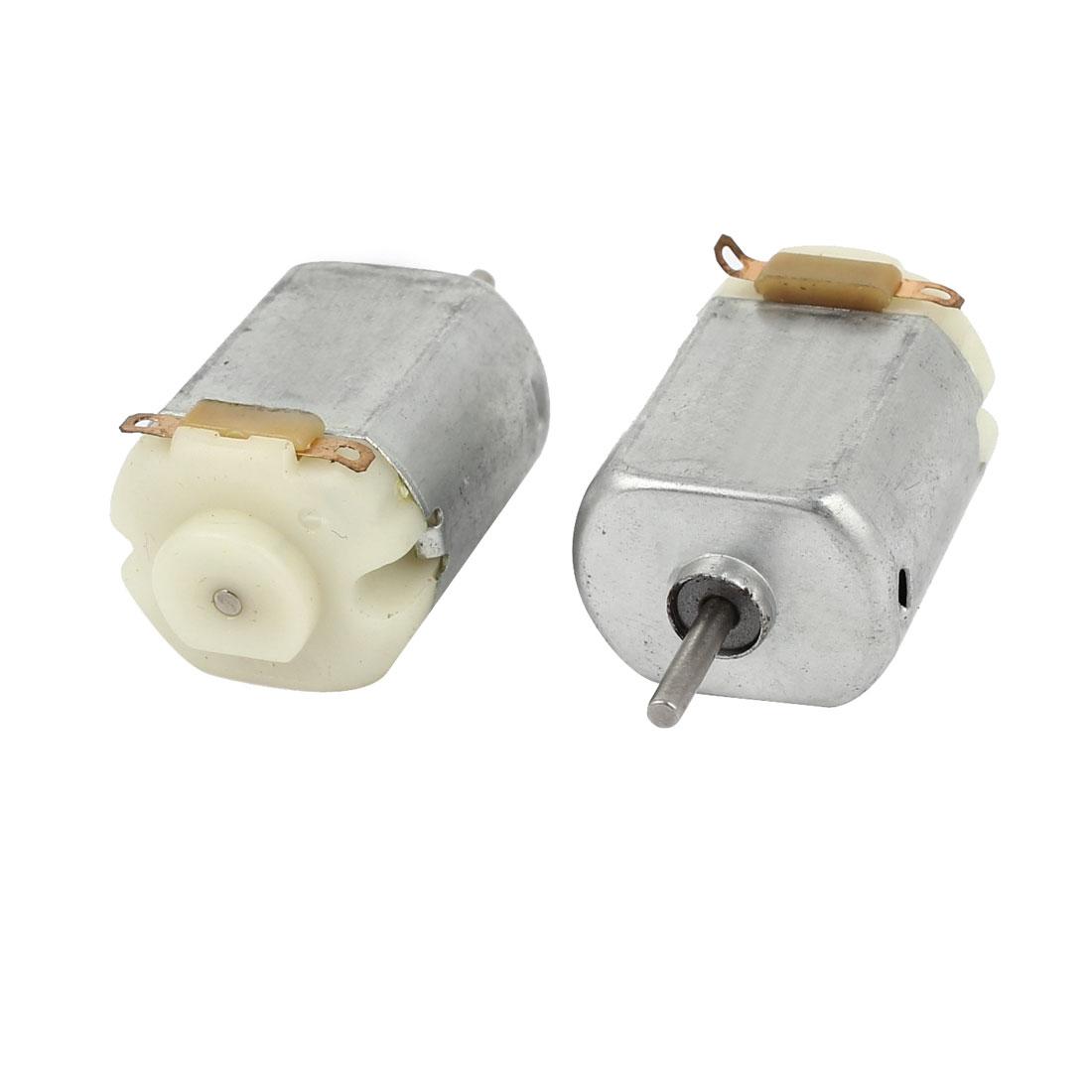 2pcs High Torque Cylinder Shaped DIY Toy Motor DC 1.5-3V 18000r/min