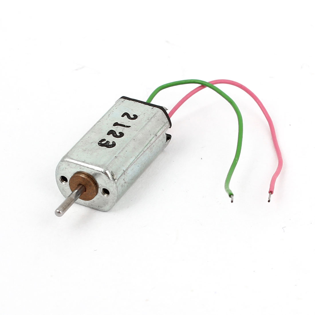 K20 DC 1.5-6V 5000RPM High Speed 1mm Dia Shaft Micro Motor for RC Ship Plane Toys
