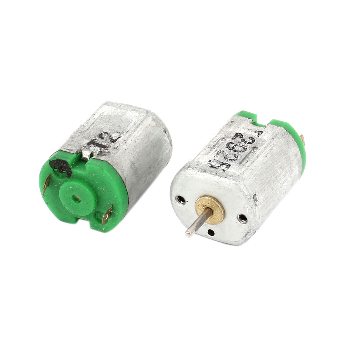 2pcs 1mm Shaft High Torque Electric Motor DC 1.5V-6V 26500RPM