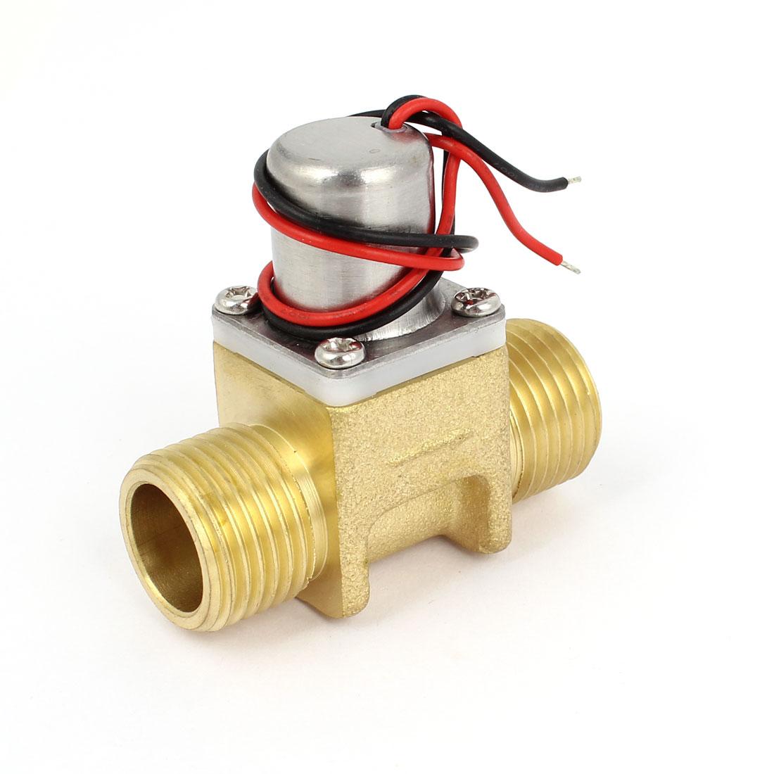 Toilet Closestool Sensor Fauce Electromagnet Solenoid Valve DC 12V