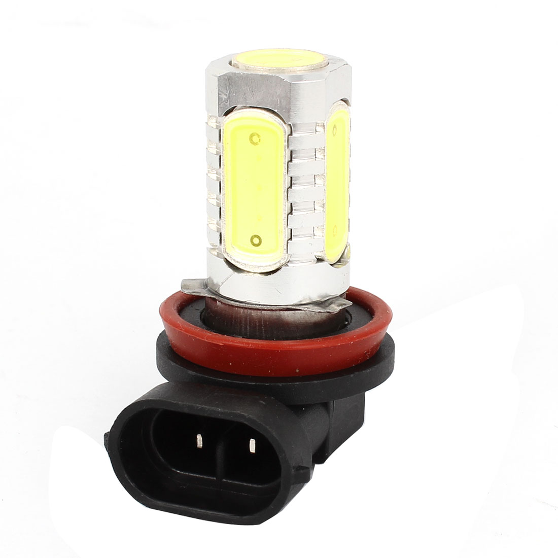 DC 12V 7.5W H11 White LED Fog Light Foglight Headlamp Bulb for Car