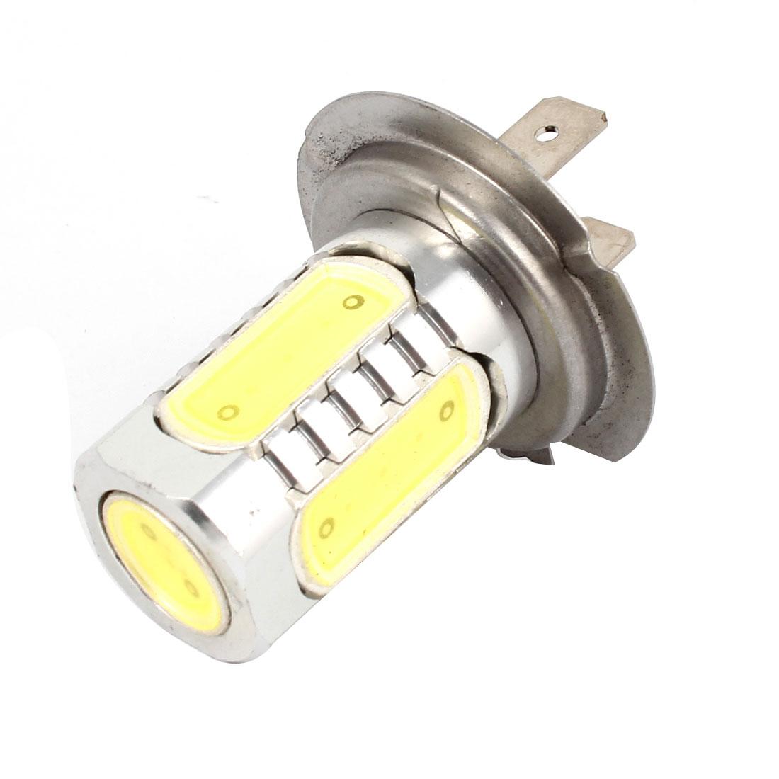 7.5W H7 Socket 5 White LEDs Fog Light Bulb Lamp for Vehicles Car