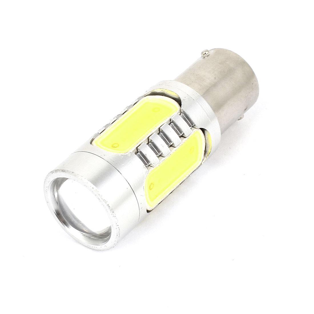 Car 7.5W 1156 White 5 SMD LED Lens Turn Backup Light Signal Lamp Bulb 12V