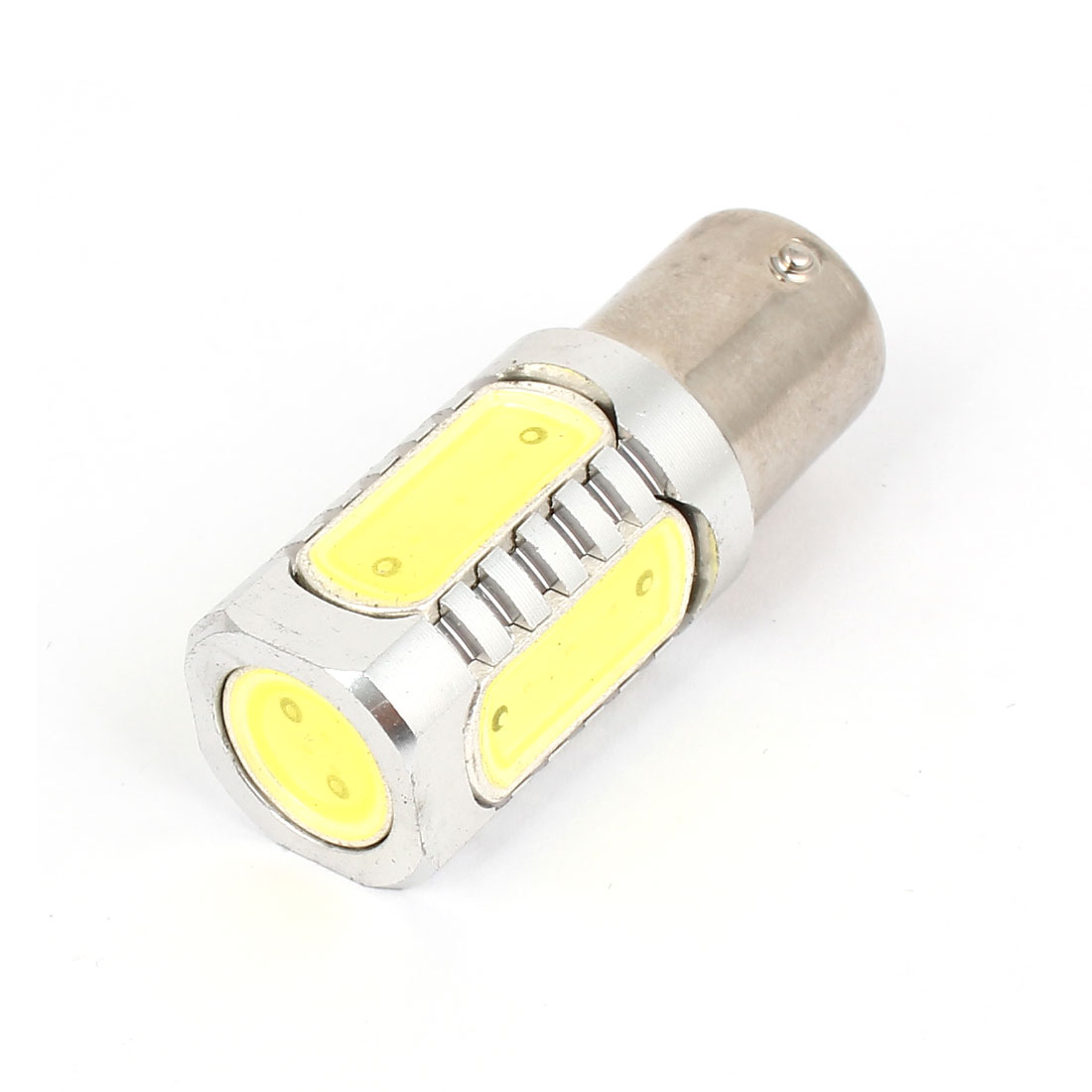 1156 White SMD LED Brake Tail Projector Lens Light Bulb 7.5W 12V for Car