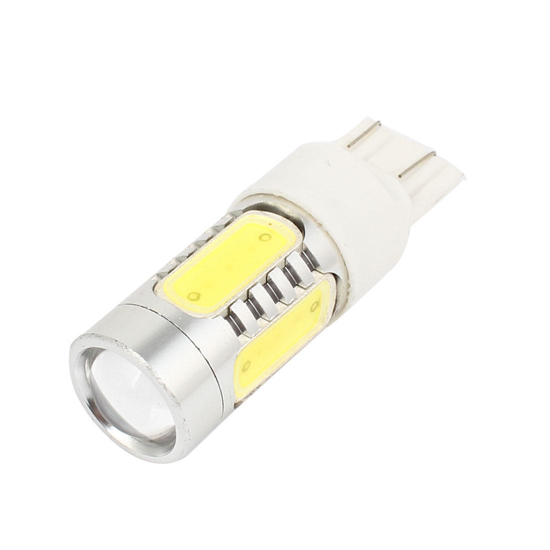 7443 White 5 LED Backup Light Brake Lamp Bulb 11W DC 10-24V