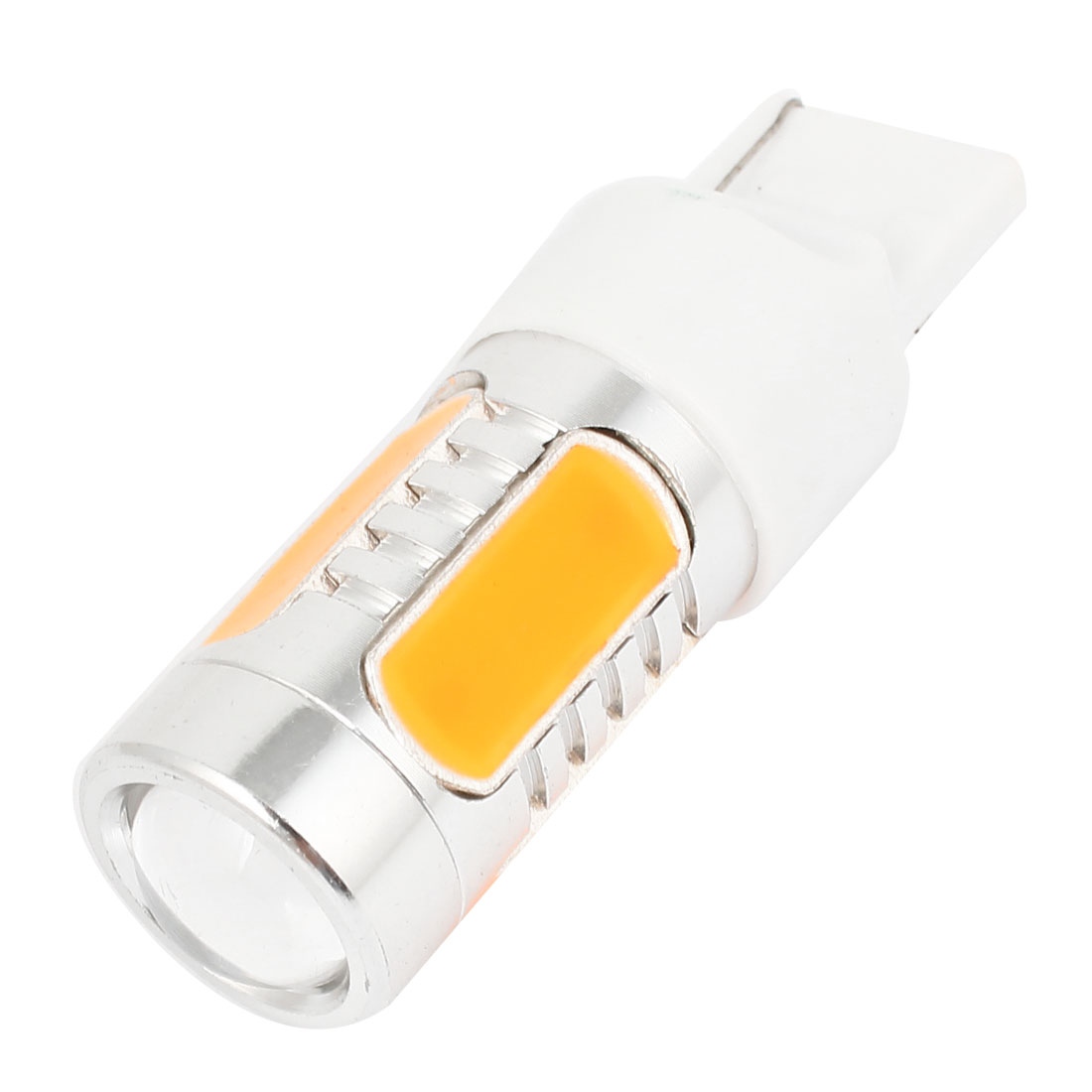 Van Truck T20 7440 Yellow 5 LED Backup Light Brake Lamp Bulb 11W DC 12V