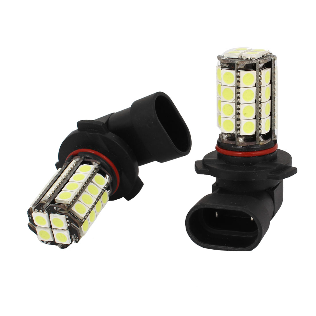 2 Pcs Car 9005 5050 SMD 36 LED White Fog Head Light Bulb Lamp DC 12V