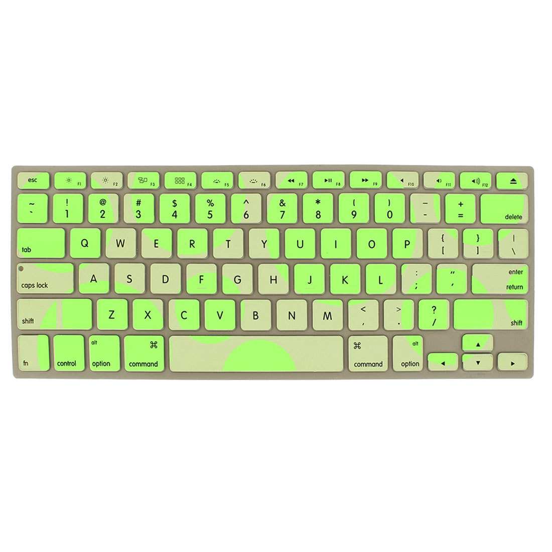 Camouflage Green Soft Silicone Keyboard Cover Skin for Apple Macbook Air 13.3""