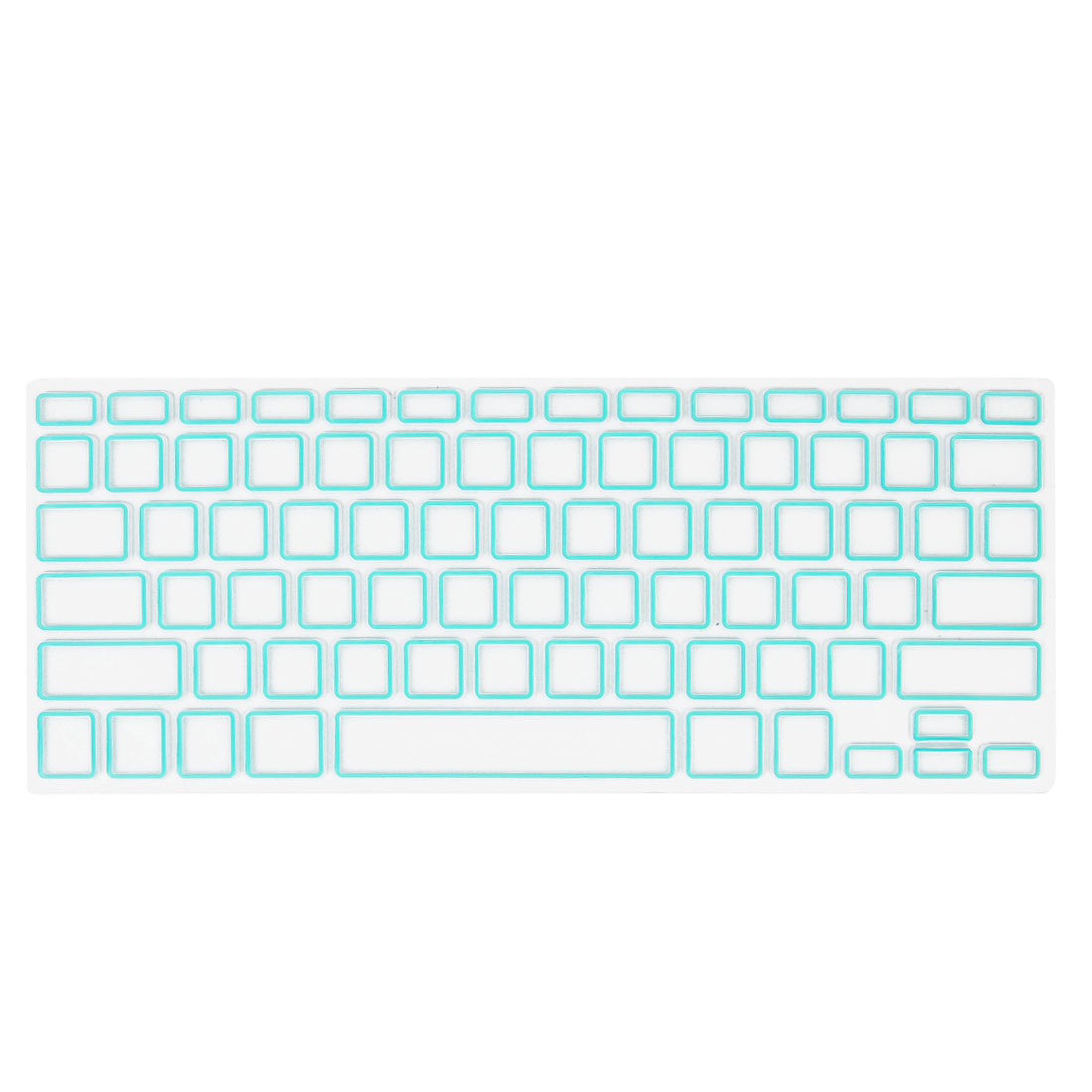 Silicone Film Keyboard Cover Protector Mint Green Clear for Apple MacBook Air 13.3""