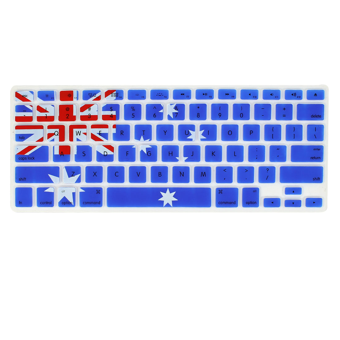 Australia Flag Soft PC Keyboard Protector Cover Film for Apple MacBook Air 13.3""