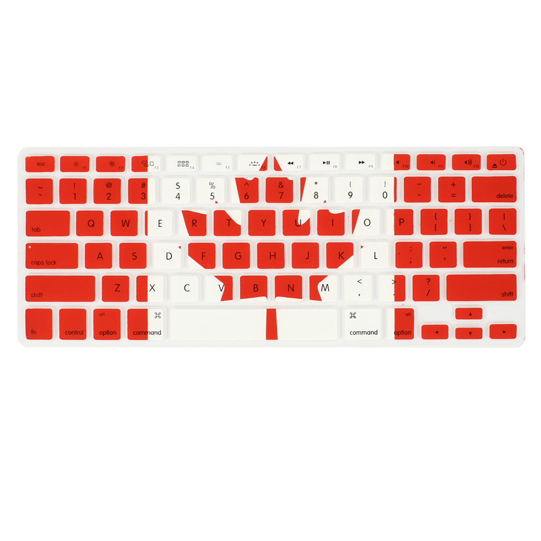 Canadian Flag Silicone Keyboard Cover Film Protector for Apple MacBook Air 13.3""