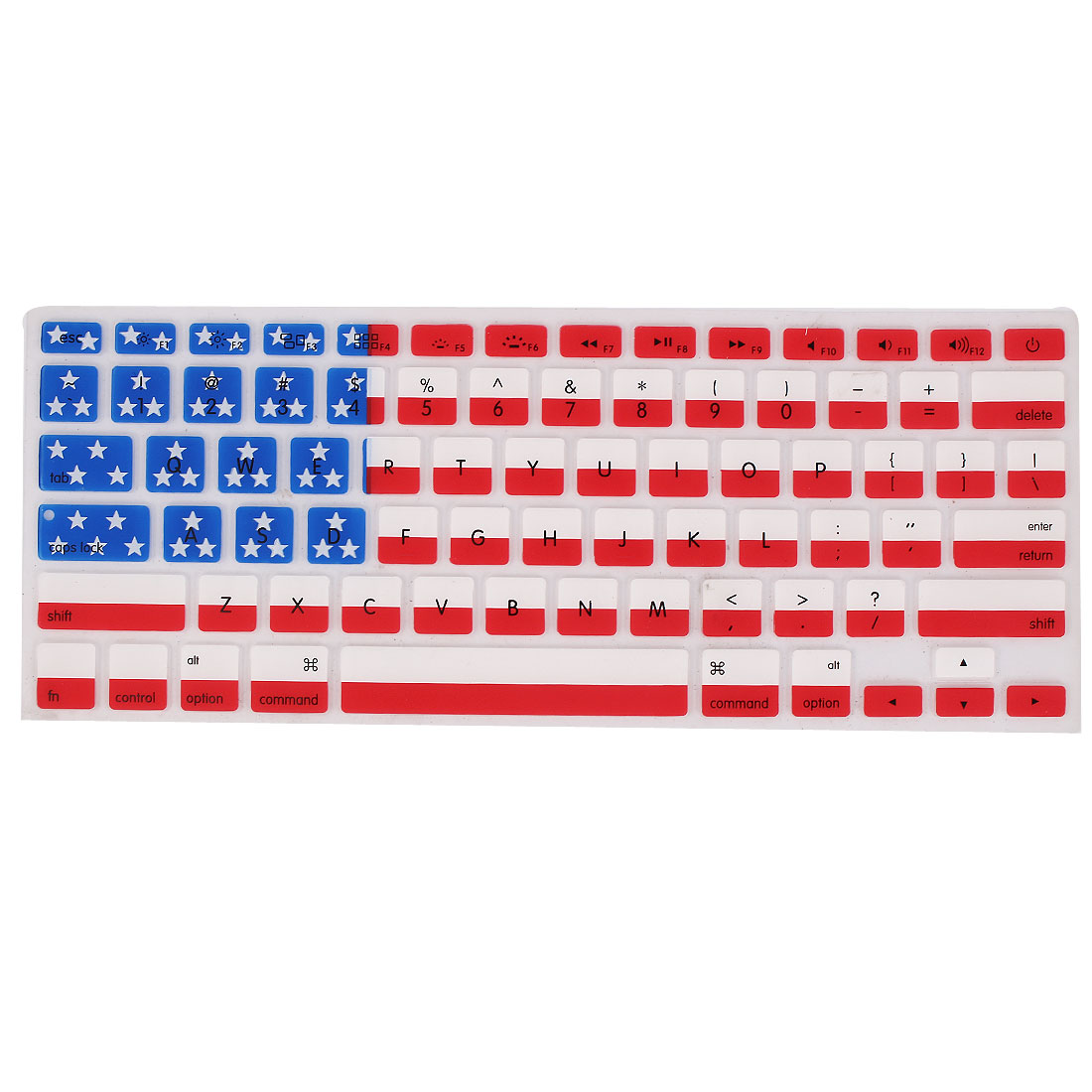 American Flag Silicone Keyboard Cover Film Protector for Apple MacBook Air 13.3""