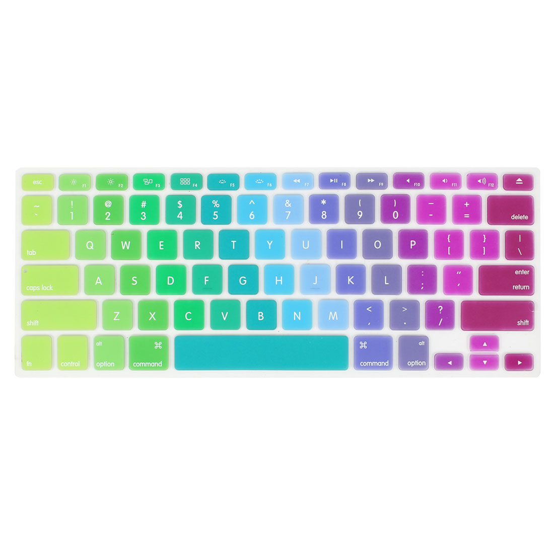 Colorful Silicone Keyboard Film Skin Cover Protector for Apple MacBook Air 13.3""