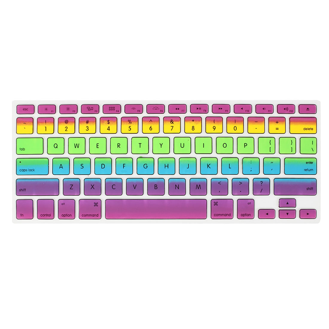 Gradient Multicolor Rainbow Keyboard Film Protector for Apple MacBook Air 13.3""