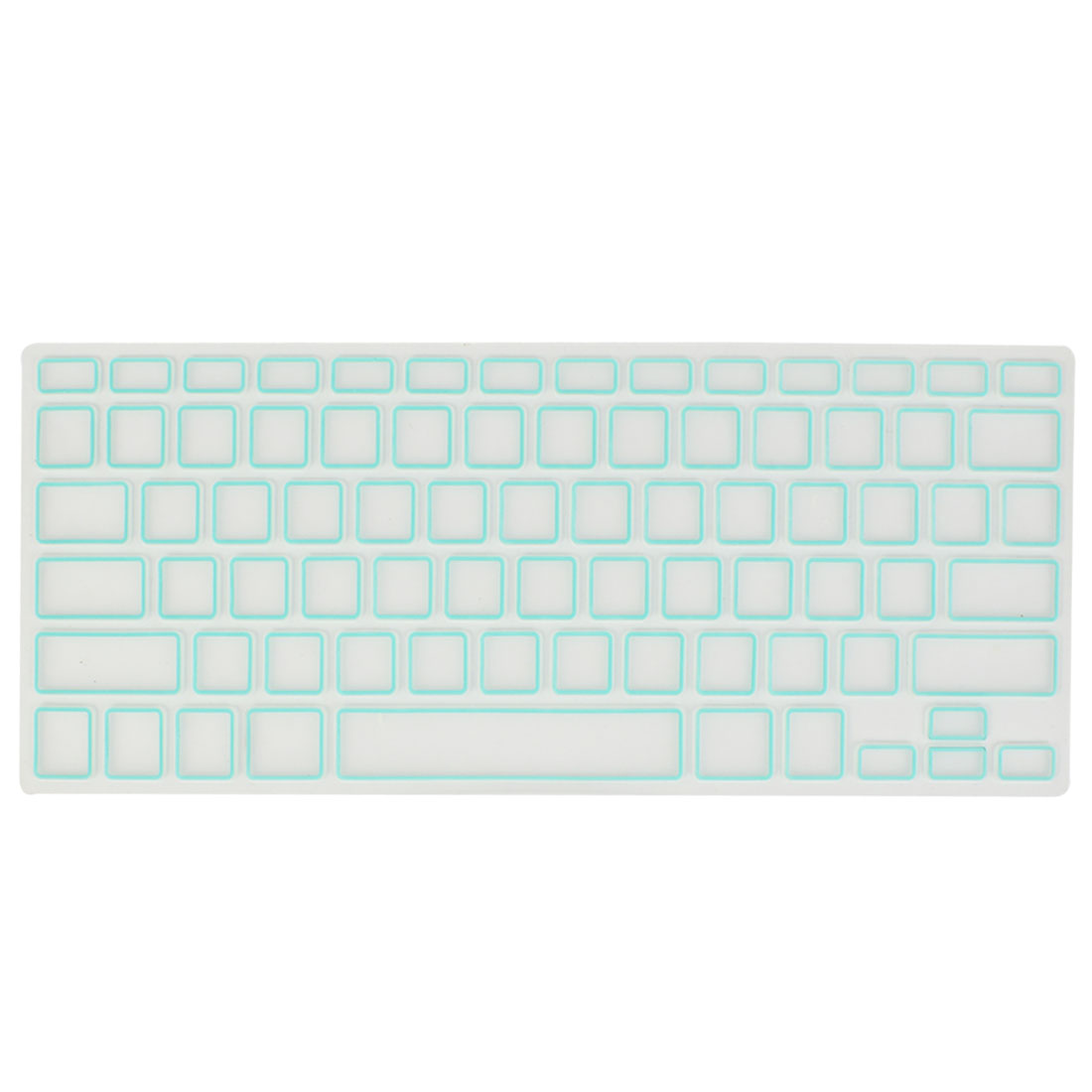 Baby Blue Clear Soft Film PC Keyboard Skin Protector for Apple MacBook Air 13.3""