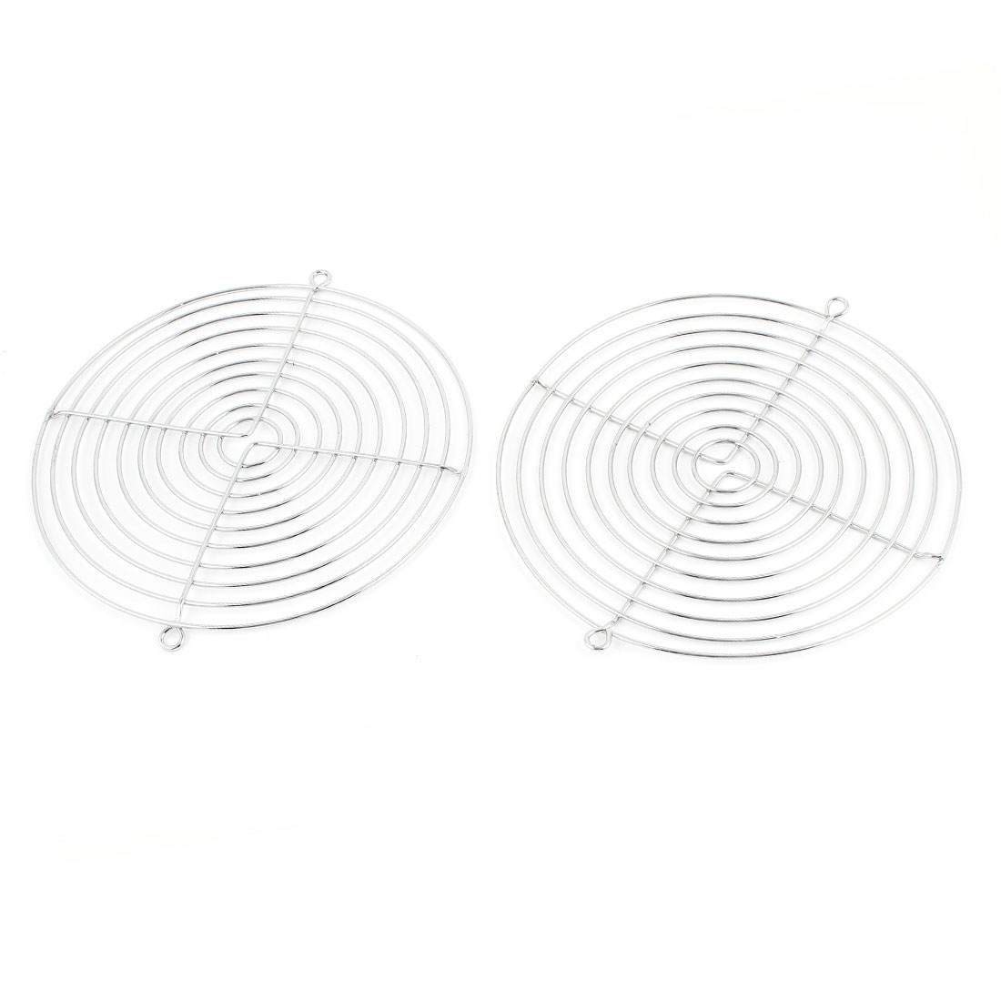2 Pcs Metal Wire Finger Guard Protect Grill for 172x151mm Cooling Fan