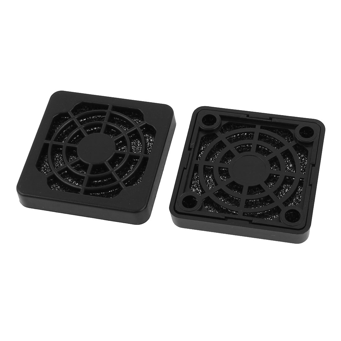 2 Pcs Dustproof Dust Filter Guard Grill Cover for 40mm PC Computer Case Fan