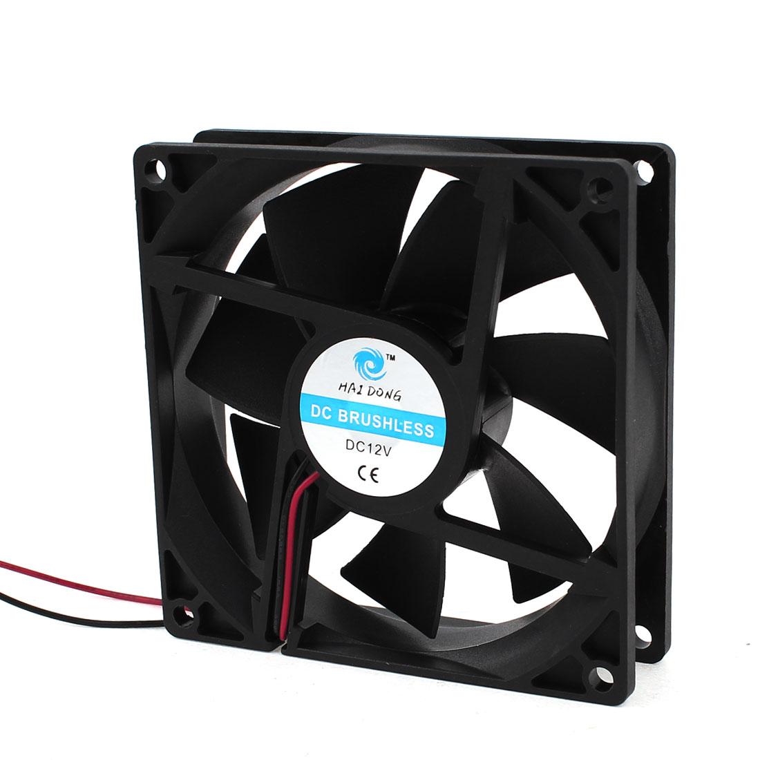 90mm x 25mm 9025 Brushless Cooling Fan DC 12V for Computer Case CPU Cooler