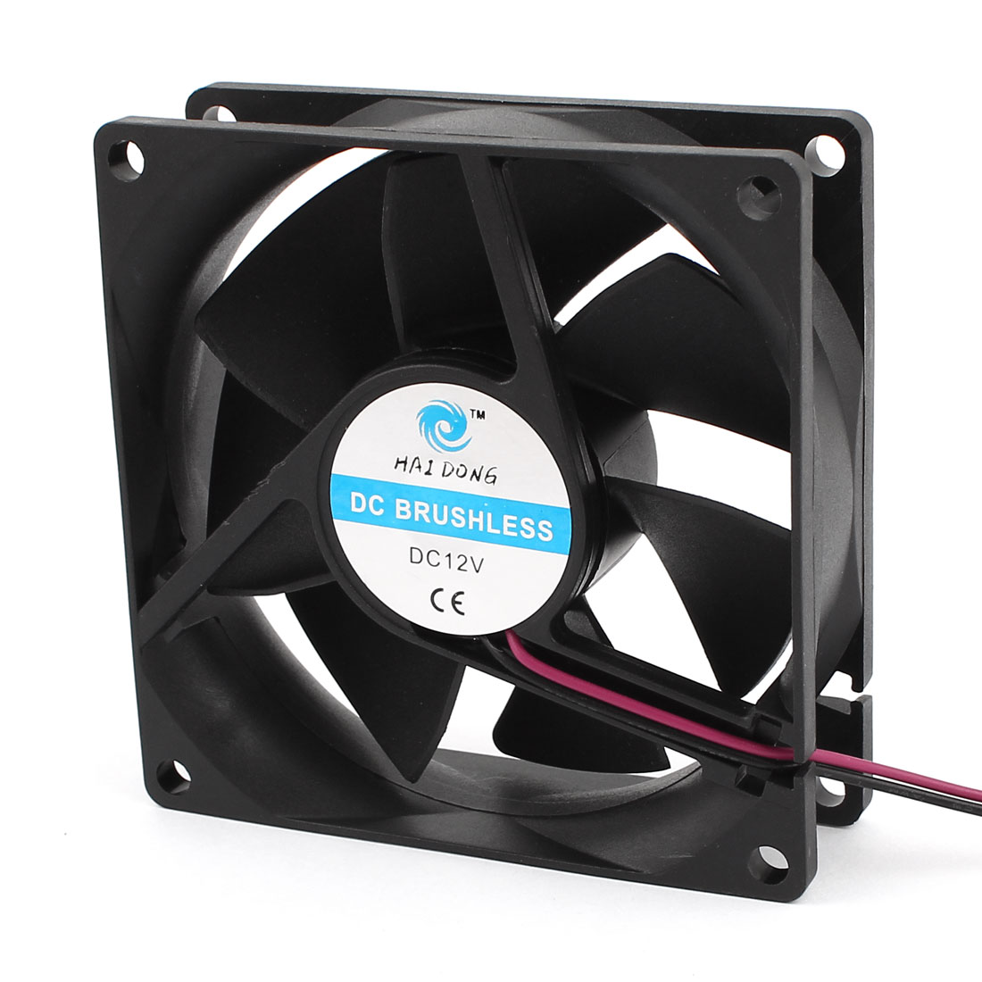 80mm x 25mm 8025 Brushless Cooling Fan DC 12V for Computer Case CPU Cooler