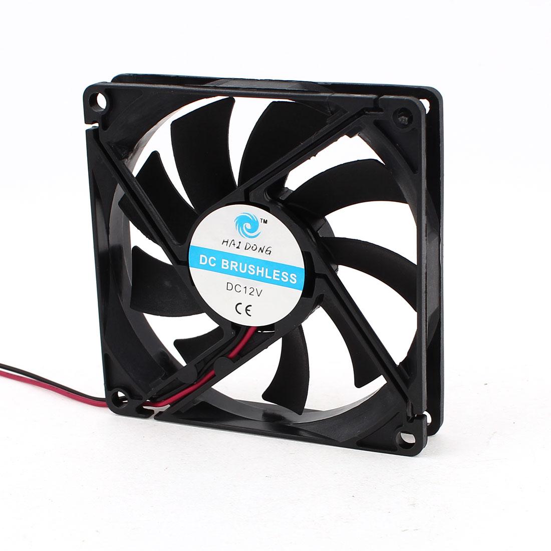 80mm x 15mm 8015 Brushless Cooling Fan DC 12V for Computer Case CPU Cooler