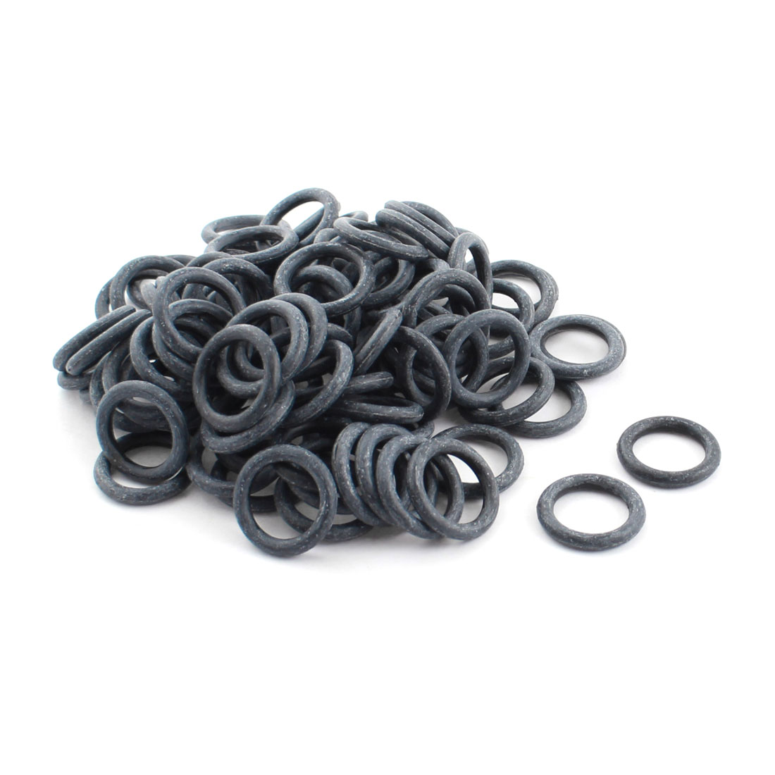 RC Propeller Brushless Motor Part Gray Rubber Seal O Ring Spacer Gasket Washer 20mm x 14mm x 3mm 100 Pcs