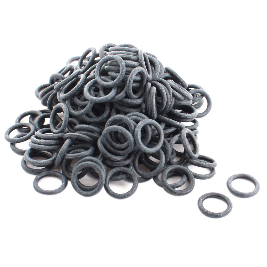 RC Brushless Motor 3mm Thickness 20mm External Dia Gray Rubber Oil Seal O Ring Spacer Gasket Washer 200Pcs