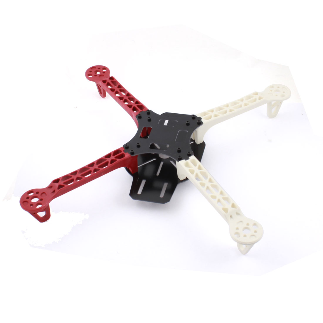 RC Model Quadcopter Part White Red Plastic Arm Mini Frame for DJI Phantom F330