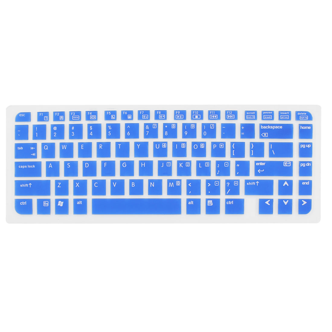 Blue Silicone Laptop Keyboard Skin Cover for HP Pavilion DV6000 DV6100