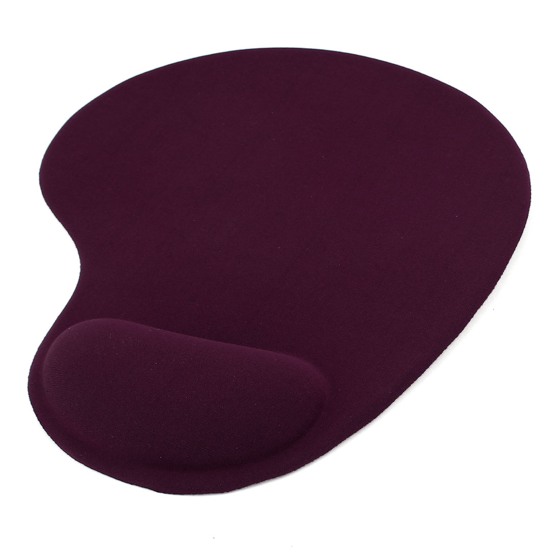 Burgundy Silicone Gel Wrist Rest Mouse Pad Mat for Laptop Desktop PC