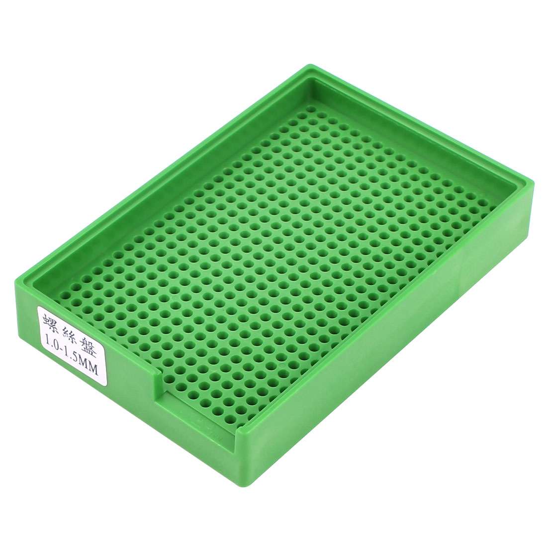 Anti-static Plastic Tray Holder Green 459 Holes for 1.0mm-1.5mm Screws