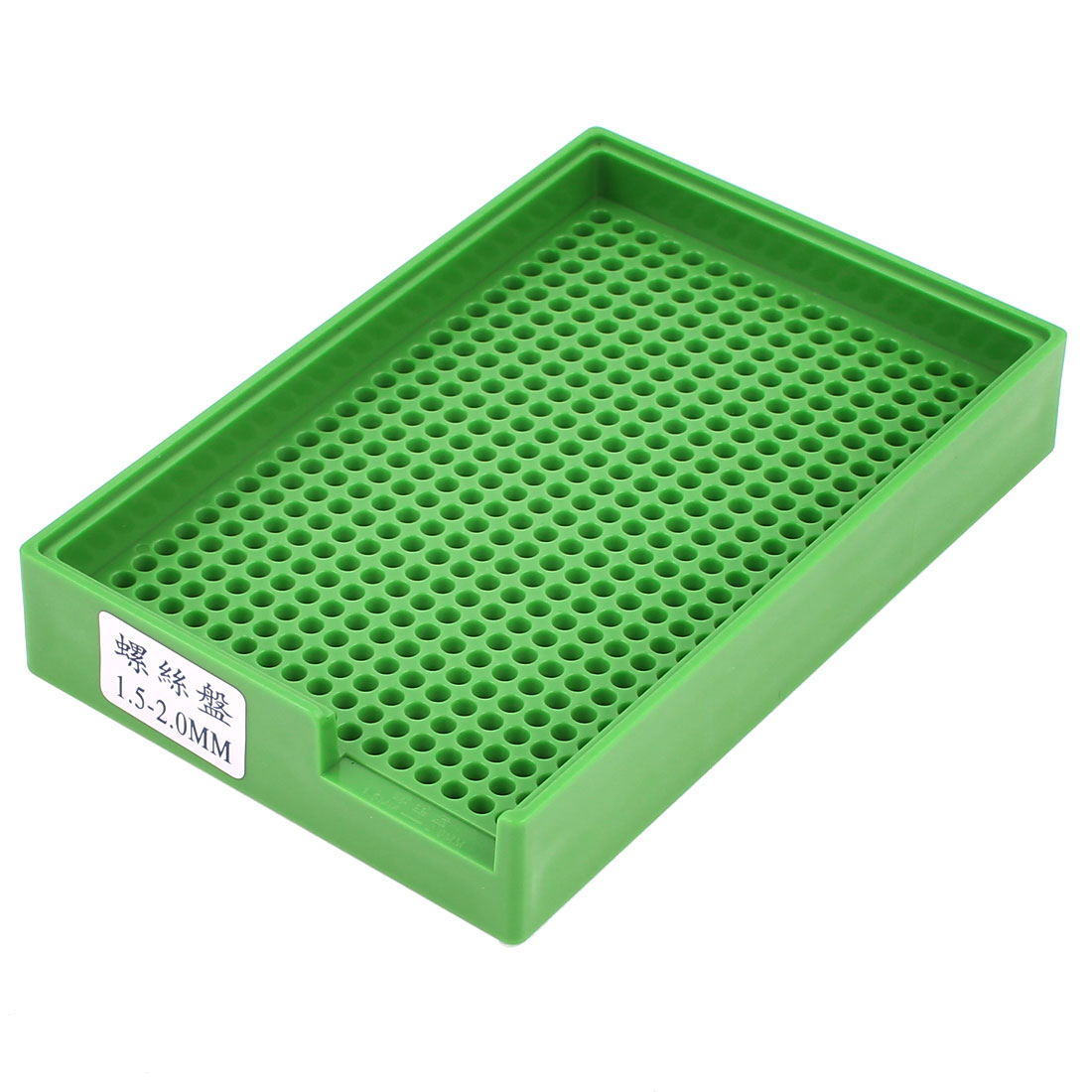 Anti-static Plastic Tray Holder Green 459 Holes for 1.5mm-2.0mm Screws