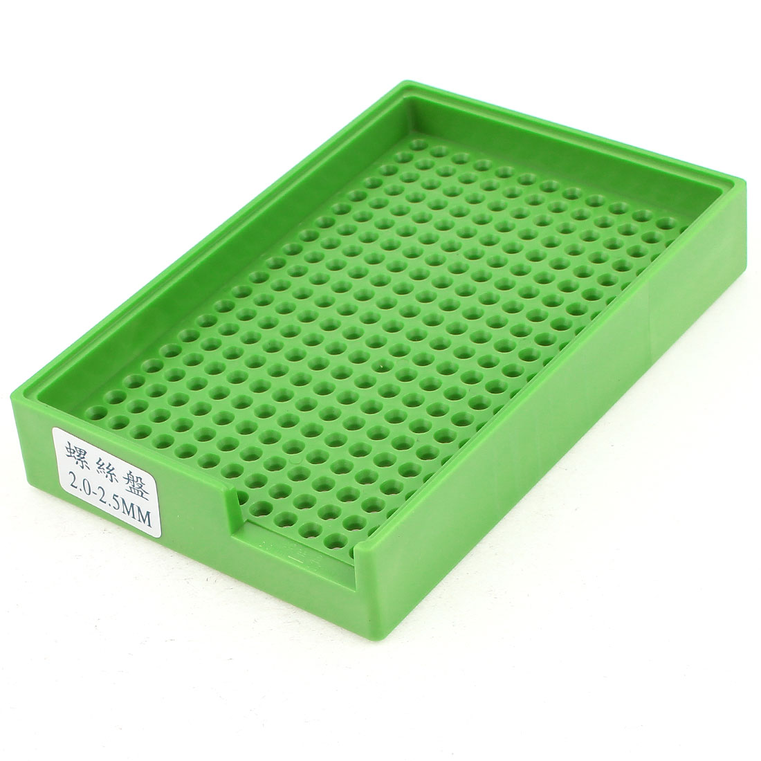 Anti-static Plastic Tray Holder Green 273 Holes for 2.0mm-2.5mm Screws