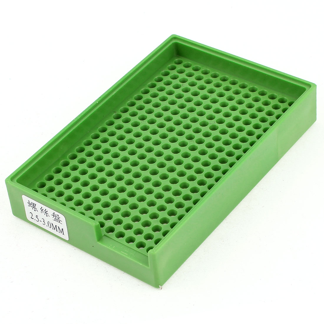 Anti-static Plastic Tray Holder Green 273 Holes for 2.5mm-3.0mm Screws