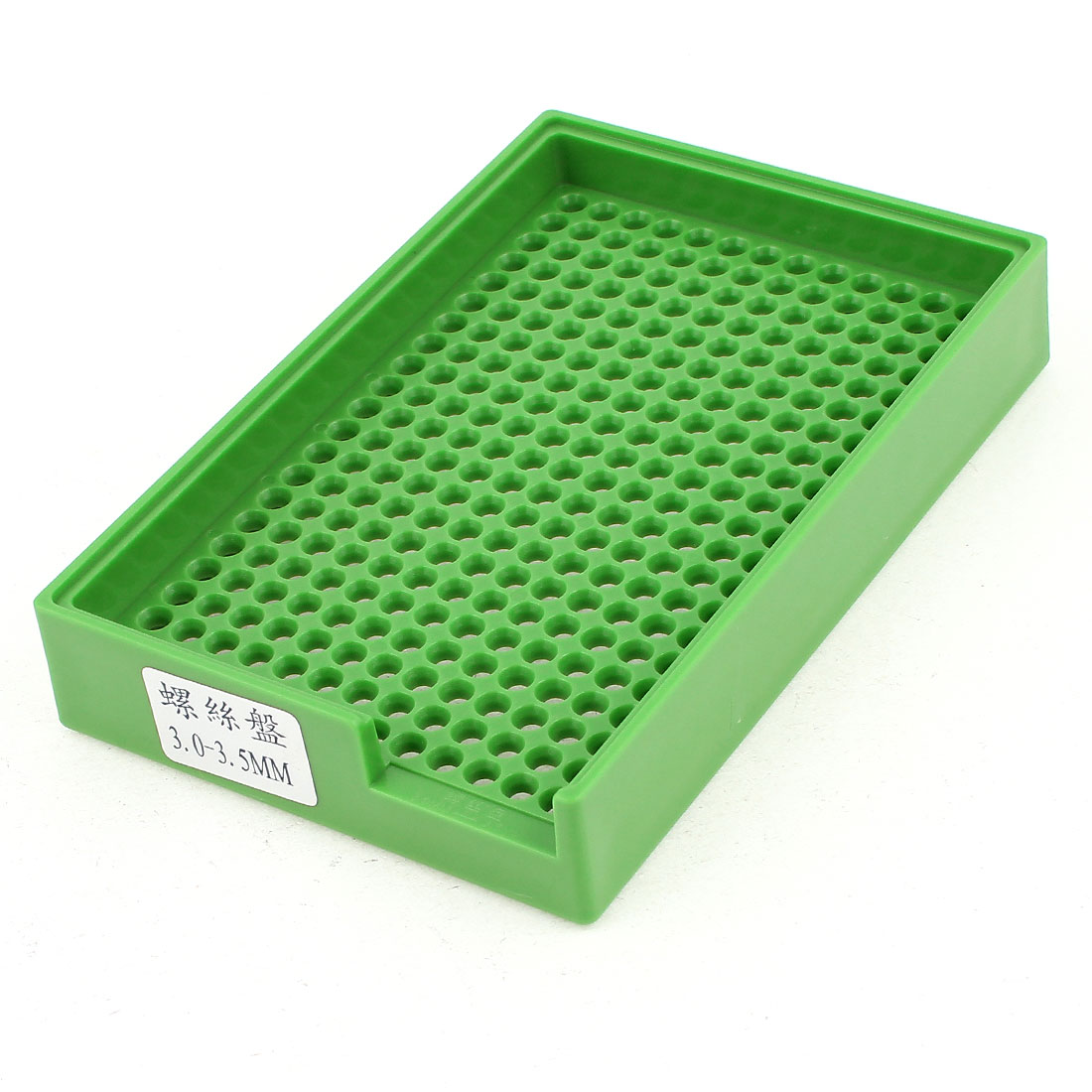 Anti-static Plastic Tray Holder Green 273 Holes for 3.0mm-3.5mm Screws