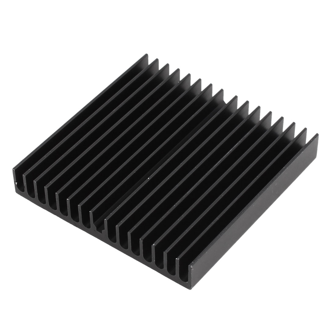 Black Aluminum Radiator Heat Sink Heatsink 60mm x 60mm x 10mm