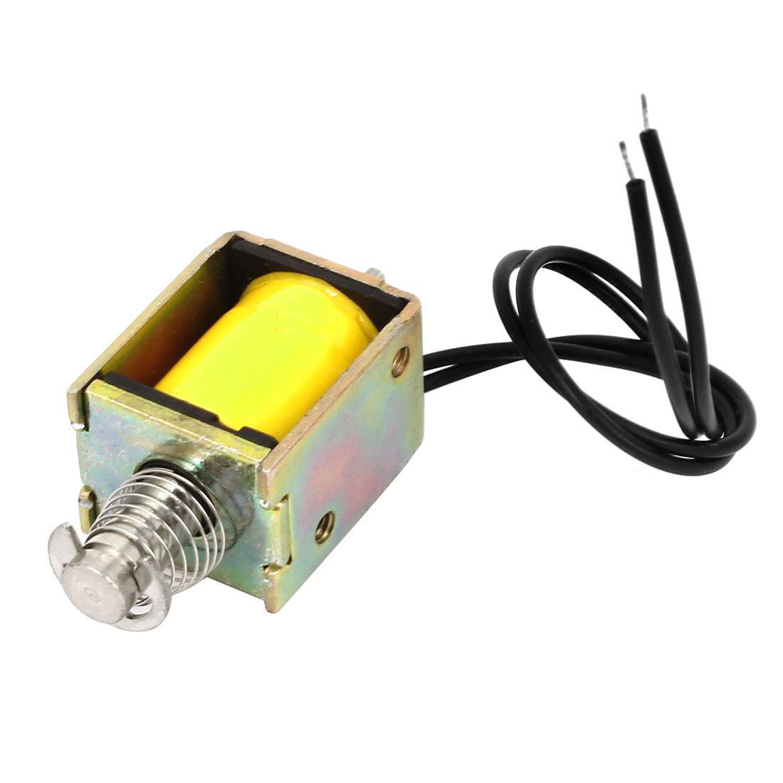 DC 20V Pull Type 2mm 100g Linear Solenoid Electromagnet 5.71W