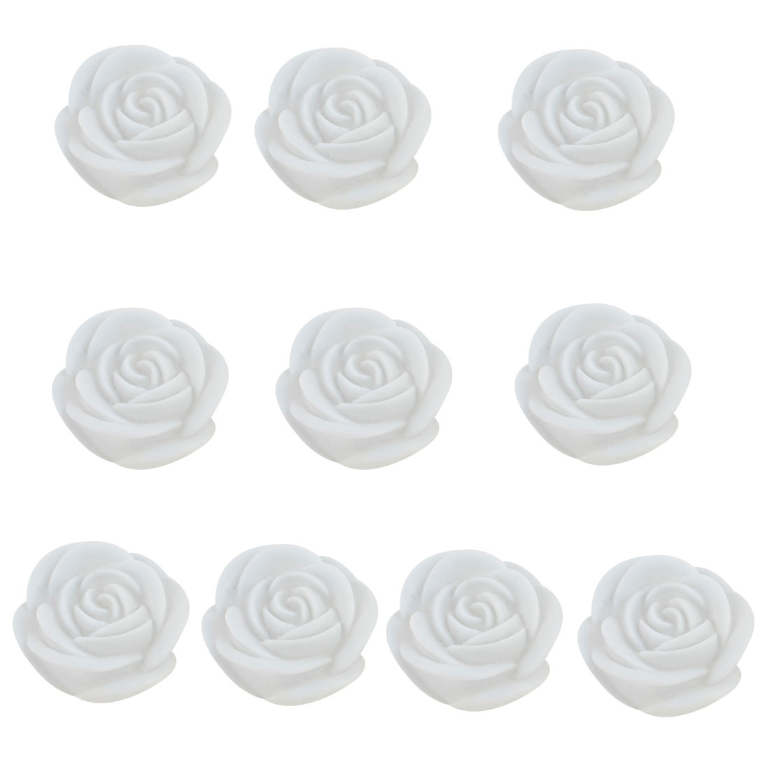 Home Bedroom Decor Battery Powered Color Changing Rose Lamps Desk Light 10 Pcs
