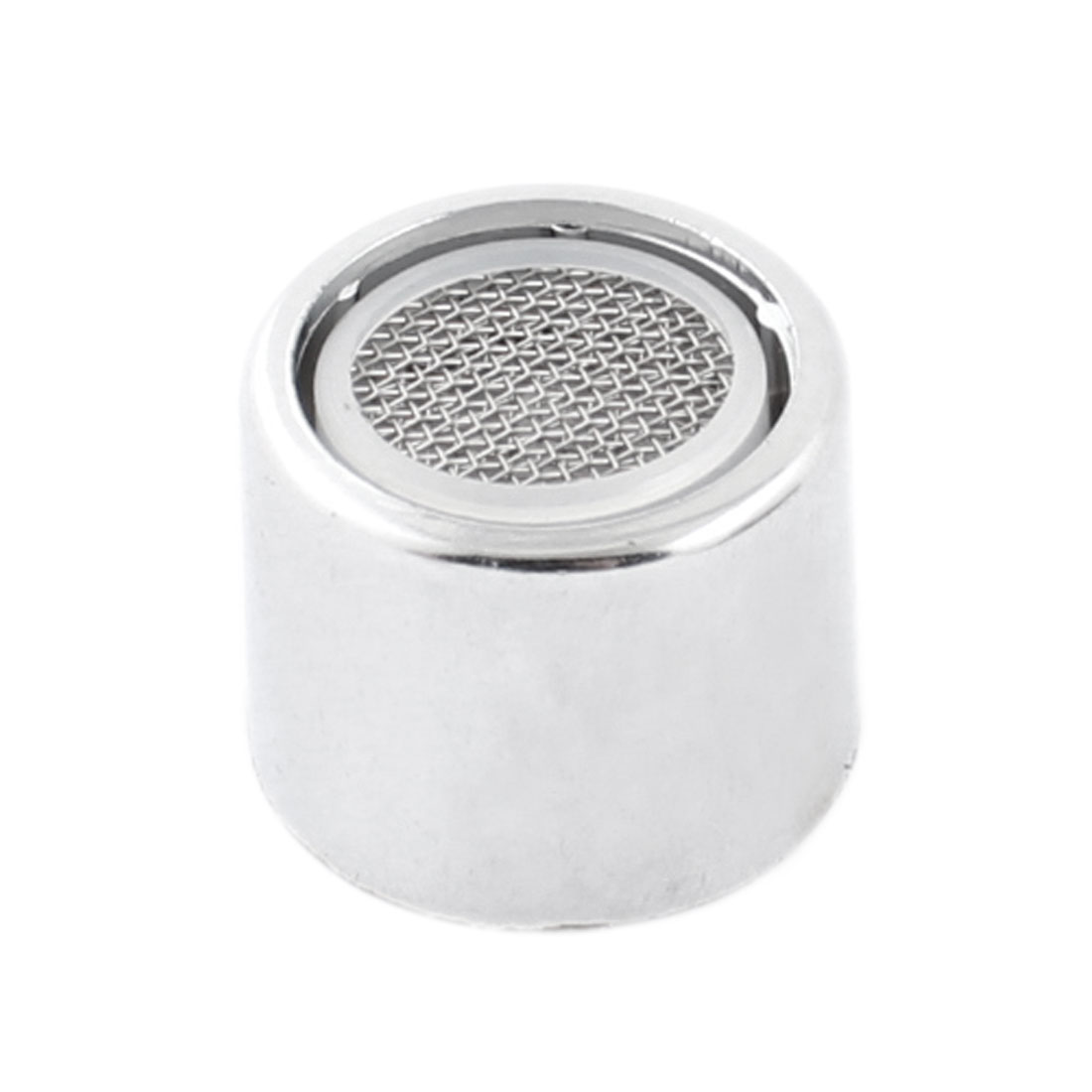 Kitchen Silver Tone 20mm Female Thread Diameter Water Tap Filter Nozzle
