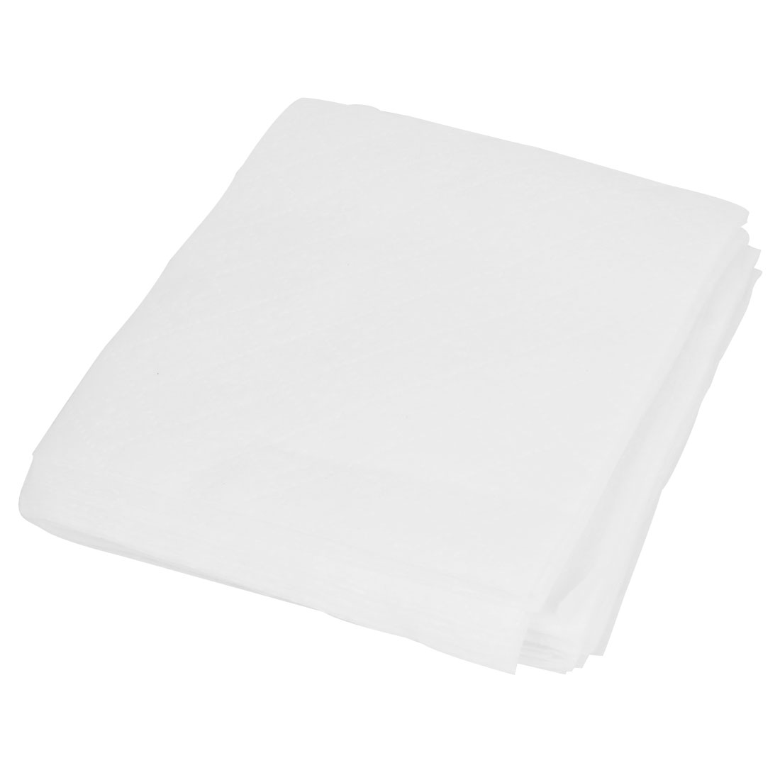 60 pcs White Square Shape Beauty Care Cleaning Dustproof Wet Wipes Towel