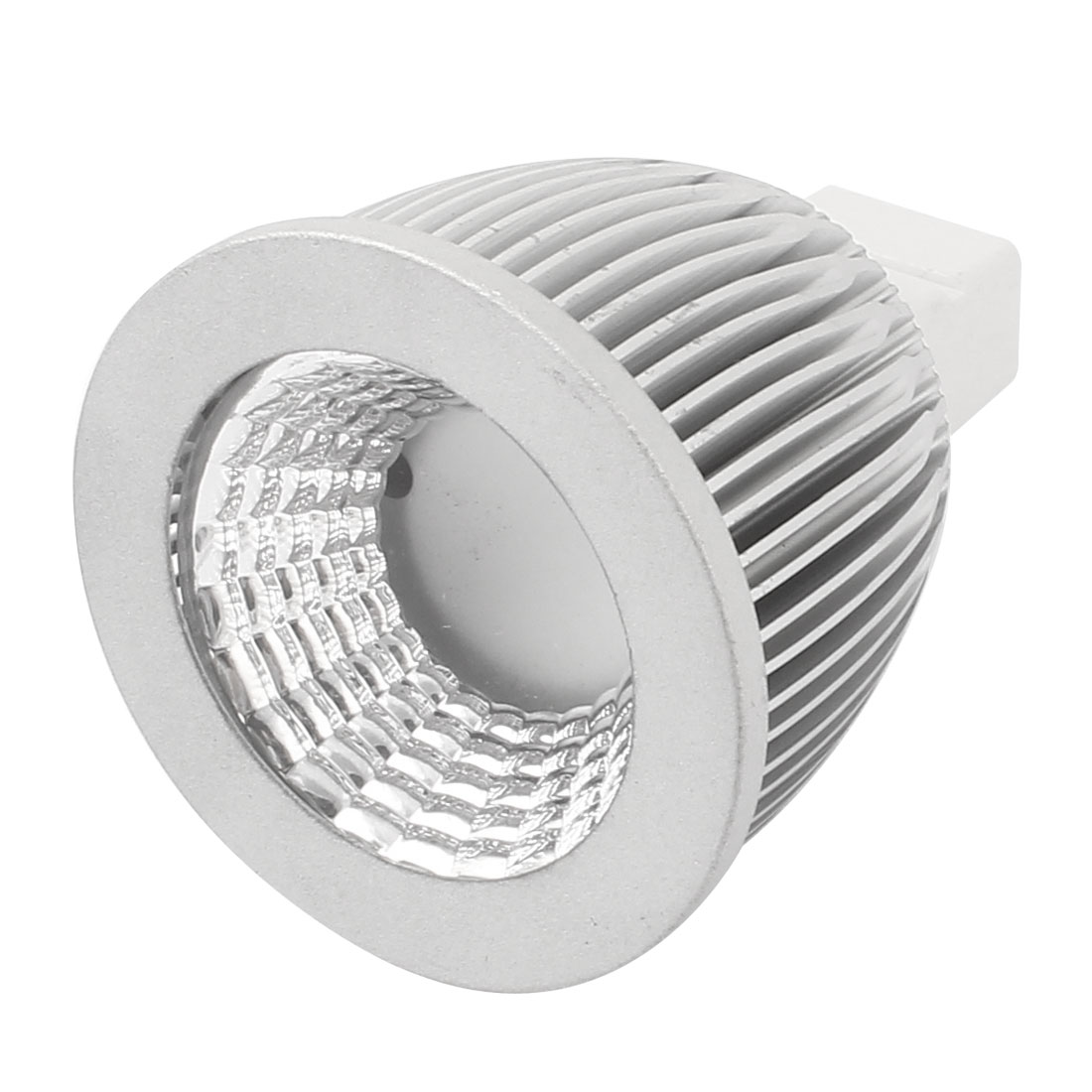 5W MR16 Socket 50mm Dia Cover Single Bulb Lamp Shell LED Aluminum Heatsink