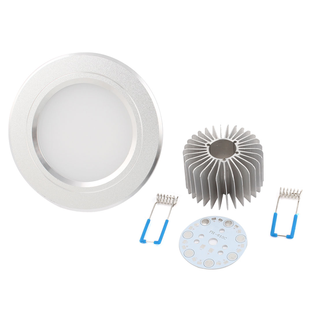 "3.5"" Dia Ceiling Down Spot Light Lamp Shell Aluminum Heatsink for 4W 7 LED"
