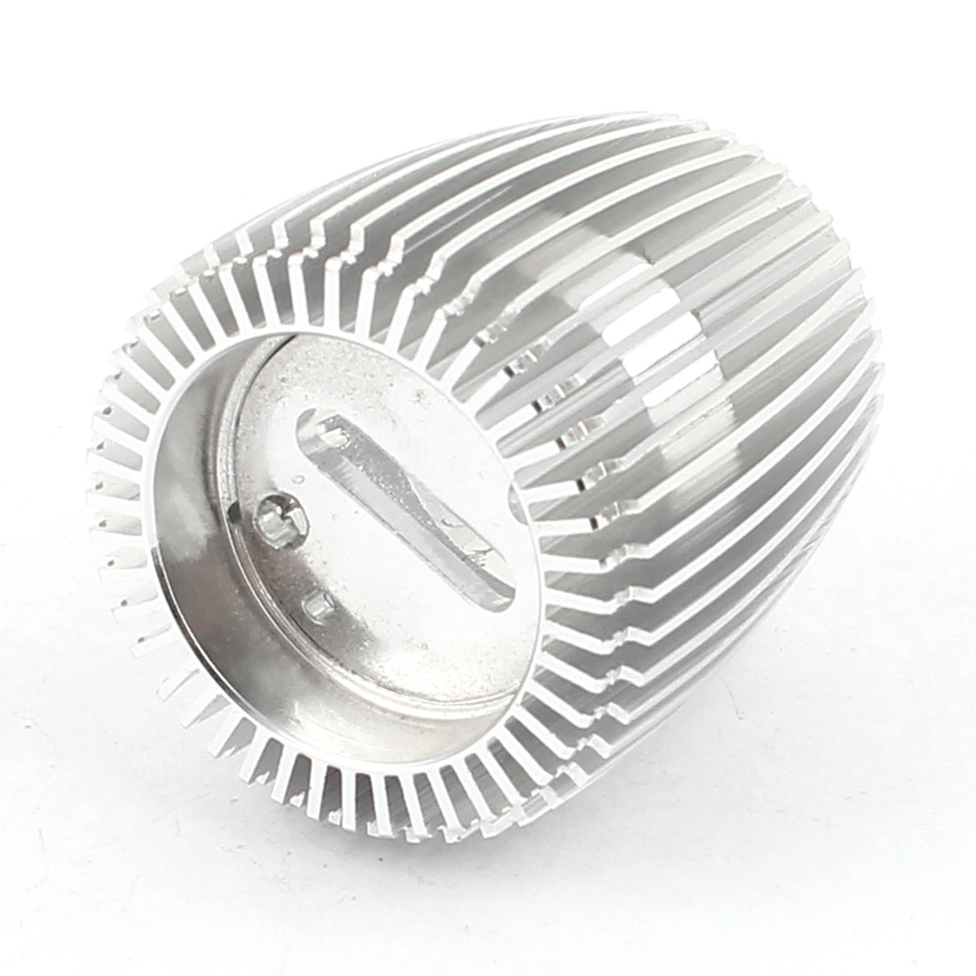 Heat Dissipation Silver Tone Round Aluminum Heasink for LED Bulb Lamp Cooling