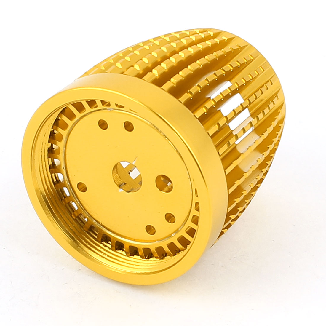 Gold Tone Aluminum Heatsink for LED Bulb Light Lamp Cooling