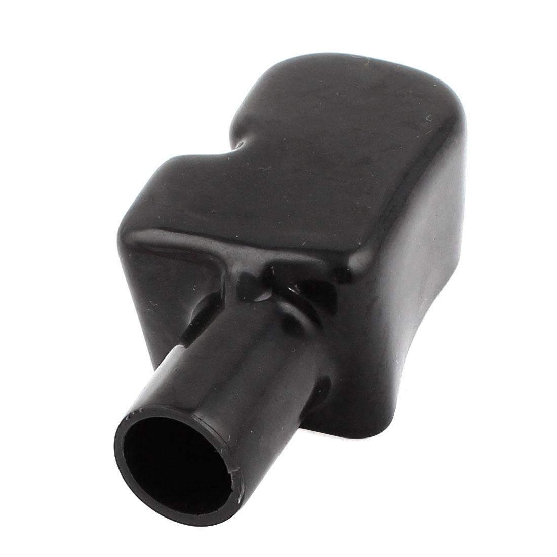 Car Cable Terminal Covers Protectors Black PVC Hot Rod Boat Boots Cap
